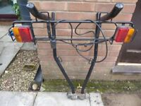 Pendle 2-3 bike tow bar cycle carrier.