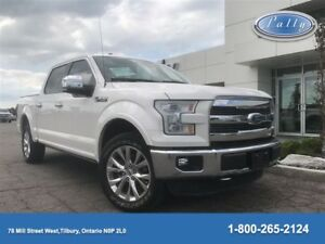 2015 Ford F-150 Lariat, Inly 19, 895 kms, Roof, Nav!!!