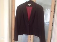Laura Ashley Brown Jacket size 18