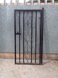 Steel security gate