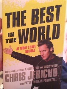 """WWE Books - Chris Jericho, """"The Best in the World"""""""