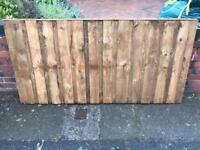 Heavy Duty Overlay Pressure Treated Fence Panels
