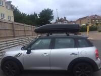 Authentic Mini 320L roof box and bars