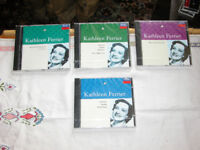 4,NEW KATHLEEN FERRIER CDS,STILL IN CELOPHENE ,BRITISH SONGS,BBC BROADCAST,GLYNEBOURNE