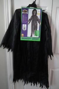 Midnight Ghost Halloween Costume NEW kids size 4-6