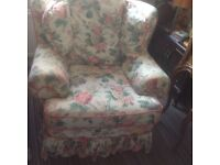 Two comfortable arm chairs