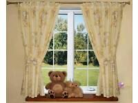 New Luxury Decorative Baby Room Nursery Curtains Teddy Bear Design 155x155cm