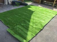 New piece of artificial grass