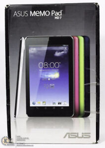 ASUS MEMO PAD HD7 and other tablets
