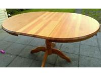 Kitchen table (circular)