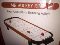 Table game air hockey brand new Collection only