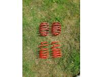 Gmax nova/corsa b lowering springs 60mm