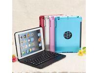 Apple iPad Mini 1 2 3 2 in 1 Bluetooth Keyboard Case Wireless Waterproof Dustproof Foldable Holder