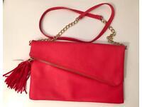 Fuchsia/ Pink /Coral Ladies Cross Body Bag