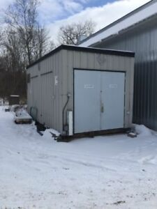 Explosion proof all steel container / storage building