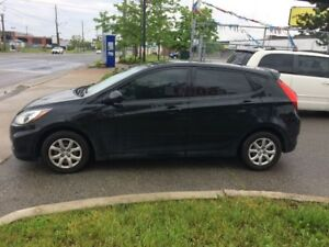 2013 Hyundai Accent HATCHBACK,AUT0,SAFETY+3YEARS WARRANTY INCLUD