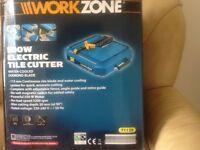 Brand New Work Zone Tile Cutter still in box.