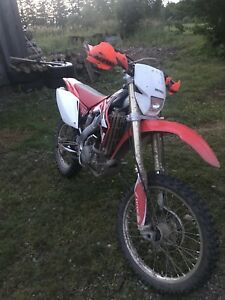Crf250x needs top end 1500obo