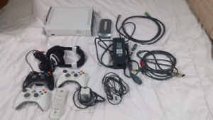 Xbox 360 with 20 + games.  All in great shape
