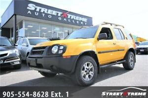 2002 Nissan Xterra Supercharged|LOW KMS|ACCIDENT FREE|AWD 4X4