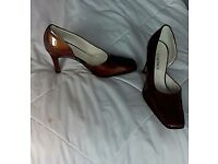 Ladies real Italian leather shoes