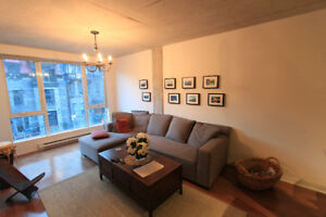 Modern condo apartment for rent in the heart of downtown