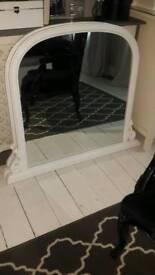 Over mantle mirror x2