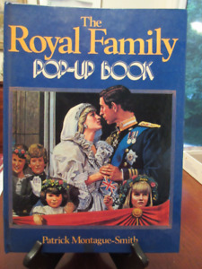 The Royal Family Pop-Up Book 1984 Book Princess Diana