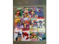 Miscellaneous comic books £1 each