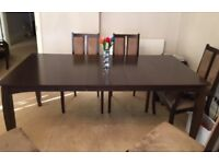 American Dining Set Table and 6 Chairs