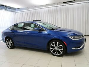 2016 Chrysler 200 IT'S A MUST SEE!!! 200C  SEDAN w/ POWER SUNROO