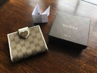 Authentic Gucci wallet.