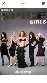Spice Girls Tour Programme