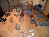 warhammer 40k space marines and more, warhammer and lord of the rings plus more bits for sale £180