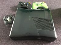 Xbox 360 Games Console, Games Bundle and 2 Controllers