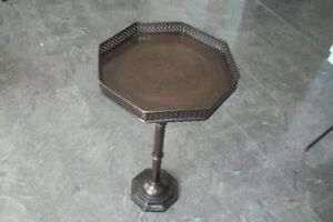 Metal Octagon Style Table