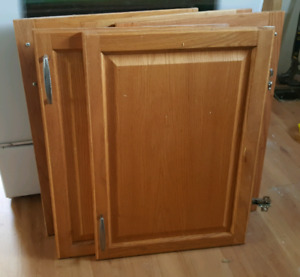 Maple Kitchen Cupboard Doors.