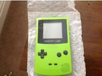 Game Boy Color lime green