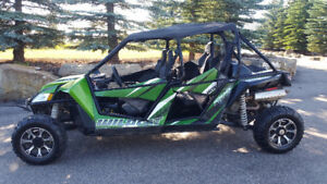 2014 Arctic cat 4 seater for sale