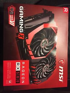Trade/swap MSI Gaming X RX580 8gb for equivalent RX480
