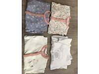 Girls First size mama n papa baby grows