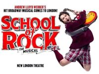 Tickets for school of rock- urgent!