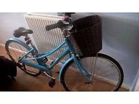 Women's Hybrid Bike with basket