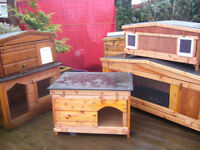 """dog kennel 24""""x24"""" robust from £35.00 7days worth viewing"""
