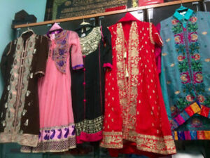 Pakistani /Indian fancy girls clothing for wedding &partys