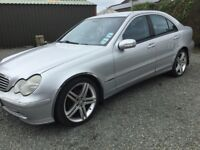 Mercedes c 220 cdti parts or repair no mot driving fine cookstown