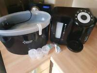 Tommee tippee sterilizer and prep machine