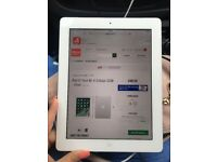 Apple iPad 4 wifi and cellular white 32gb