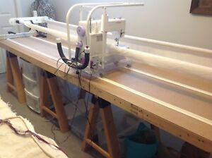 Handi quilter Mid arm frame and  machine