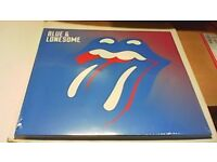 THE ROLLING STONES-DOUBLE VINYL RECORD-SEALED-BLUE & LONESOME-BRAND NEW